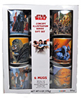 Star Wars Concept illustration Series Gift Set 6 Ceramic Mugs