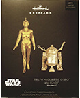 Hallmark C-3PO and R2-D2 Star Wars Celebration Chicago Exclusive