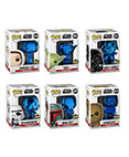 POP Star Wars Celebration Chicago Exclusive Blue Chrome Set of 6