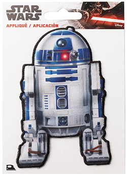 Star Wars R2-D2 Applique Clothing Iron On Patch