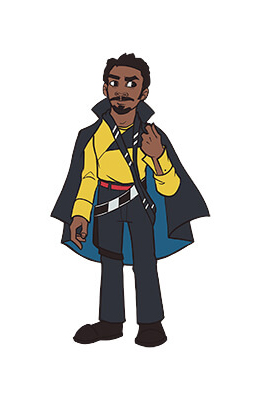 Lando Calrissian Pin Star Wars Celebration Chicago Exclusive