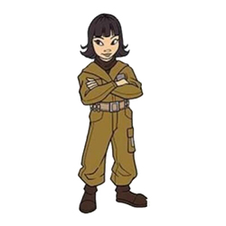 Rose Tico Pin Star Wars Celebration Chicago Exclusive