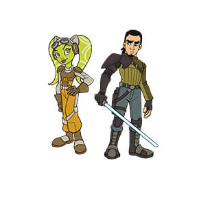 Hera & Kanan 2-Pack Pin Star Wars Celebration Chicago Excl.