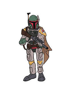 Boba Fett Pin Star Wars Celebration Chicago Exclusive