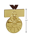 Hallmark: Medal of Yavin Christmas Tree Ornament Limited Edition