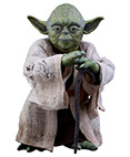 Hot Toys Yoda Empire Strikes Back Star Wars Sixth Scale Figure