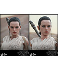 Hot Toys Rey and BB-8 2-pack Star Wars Sixth Scale Figures