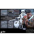 Hot Toys Finn/Riot Control Stormtrooper 2-pack Sixth Scale Figs