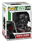 Darth Vader Limited Edition Glow Chase with Glowing Candy Cane