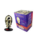 C-3PO Trilogy Die Cast Metal Miniature Helmets