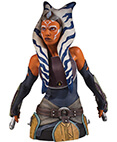 Ahsoka Tano 1: 6 Scale Collectible Mini Bust Clone Wars