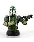 Commander Gree Collectible Mini Bust 2007 Convention Exclusive