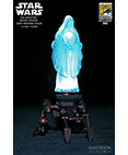 Sideshow Holographic Darth Sidious with Mechno-Chair Exclusive