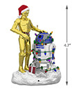 Hallmark: C-3PO and R2-D2 Peekbuster Keepsake Ornament