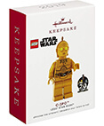 Hallmark: C-3PO LEGO Star Wars Christmas Ornament