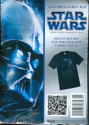 Star Wars The Force on Blu-Ray T-Shirt (X-Large) Best Buy