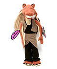 Star Wars Jar Jar Binks Plush figure 16 inches