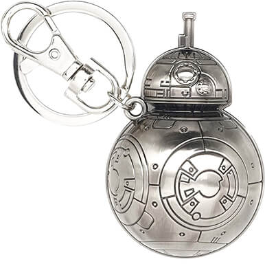 Star Wars BB-8 Pewter Key ring
