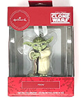 Hallmark: Yoda The Clone Wars Christmas Tree Ornament 2020