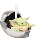 Hallmark: The Mandalorian The Child in Hovering Pram Ornament