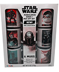 Star Wars Limited Edition Mandalorian Gift Set 6 Ceramic Mugs