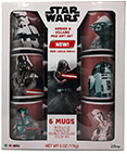 Star Wars Heroes and Villains Gift Set 6 Ceramic Mugs