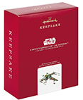 Hallmark: X-Wing Starfighter on Dagobah Ornament 2020