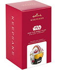 Hallmark: Red Five Rebel Pilot Star Wars Ornament 2020