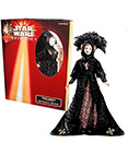 Queen Amidala Black Travel Gown 1999 Portrait Edition
