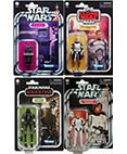 K-2SO, Luke Stormtrooper, Power Droid, Clone Wolffe Set of 4