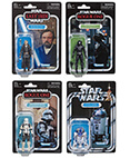 Luke (Crait), R2-D2, Death Star Gunner, Tank Commander Set of 4